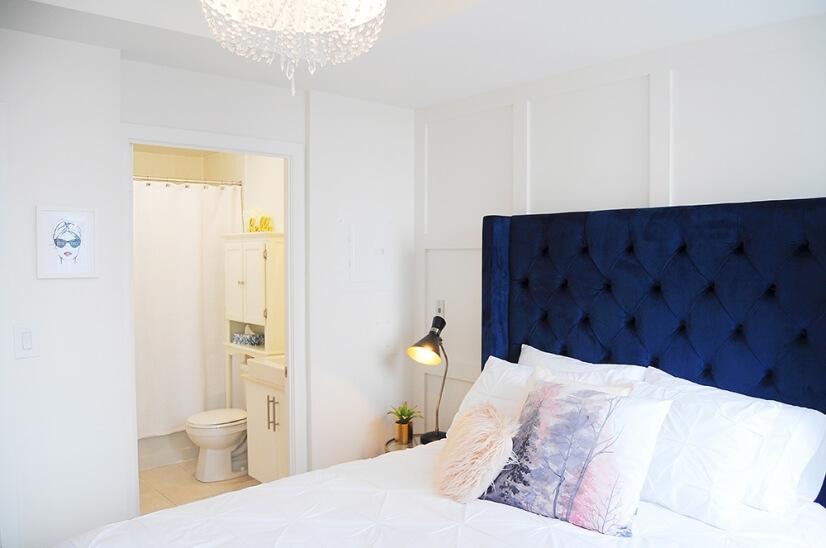 Beautifully elegant main bedroom