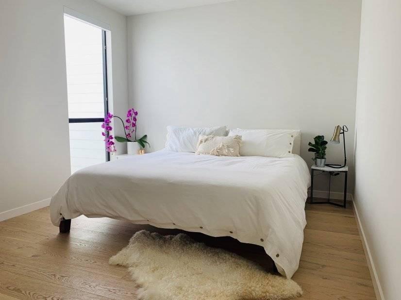 Serene second bedroom