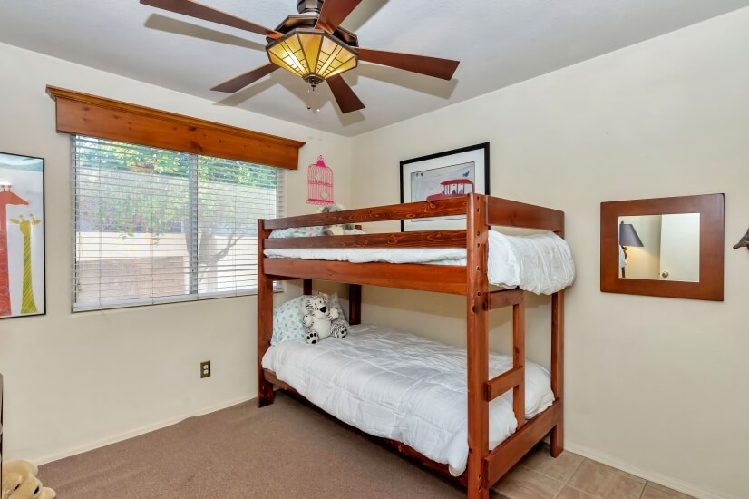 fourth bedroom bunkbeds