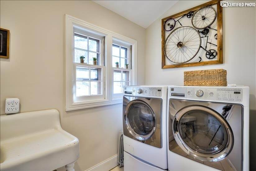 1st Floor Laundry - Washer and Dryer