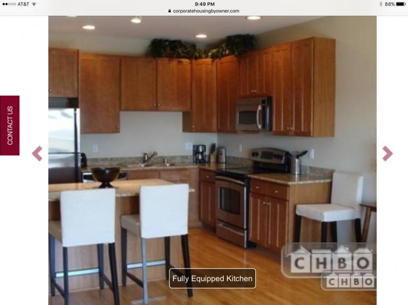 image 3 furnished 1 bedroom Townhouse for rent in Lincoln Park, Denver Central