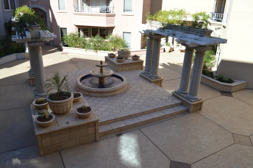Tranquil Courtyard