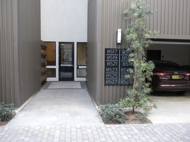 Building Main Entrance