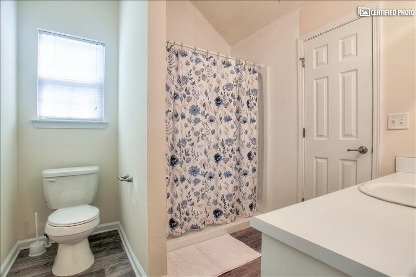 Master Bathroom with Step in Shower