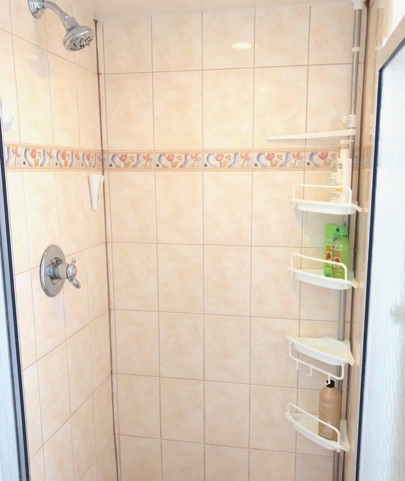 shower (sorry no tub)