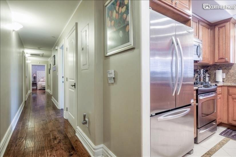 Long Hallway to Bedrooms & Bathrooms