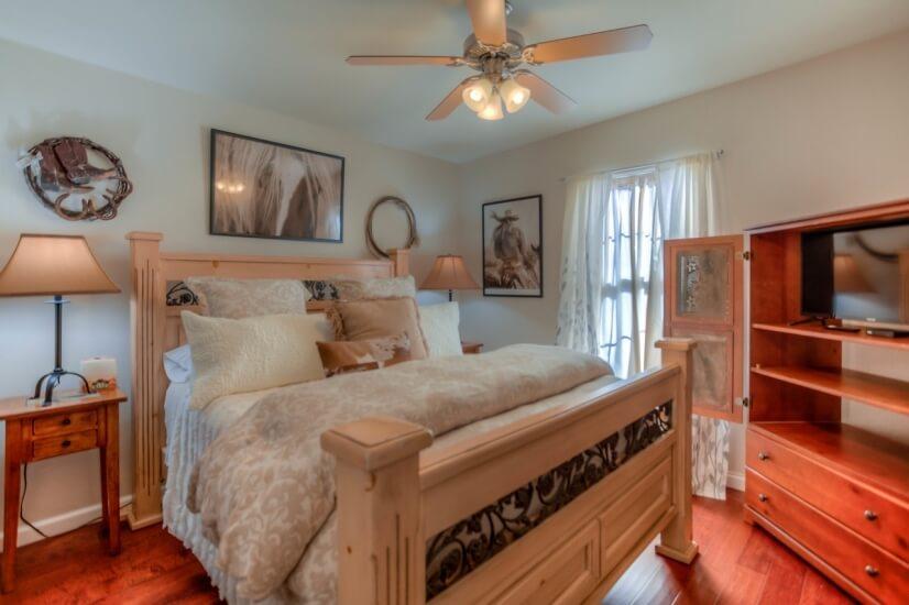 Hall Bedroom #1.  SMART 32-inch TV