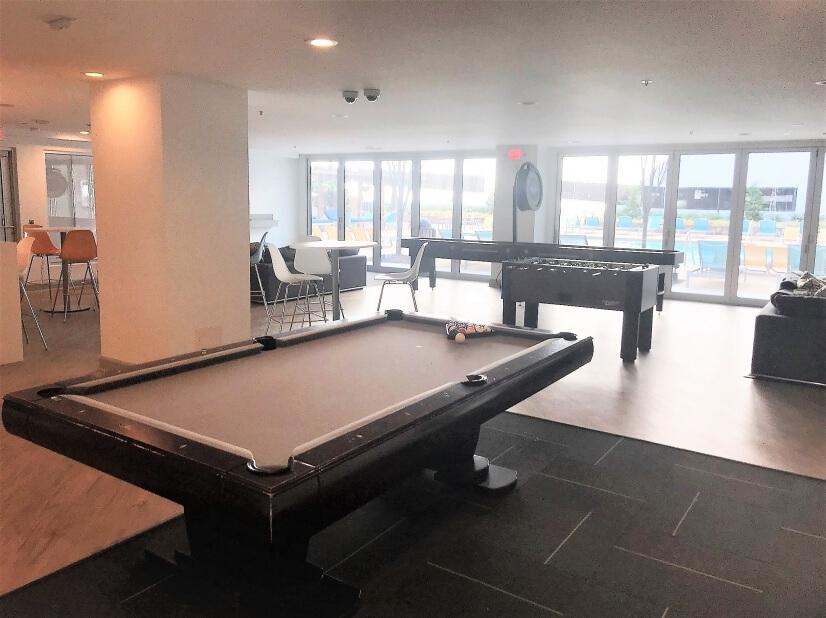 Clubhouse Billiards Area