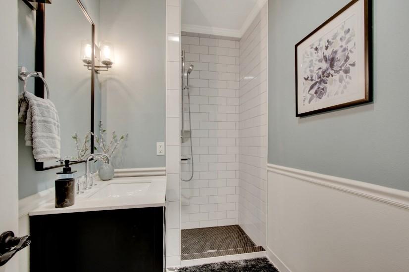 Downstairs restroom / shower