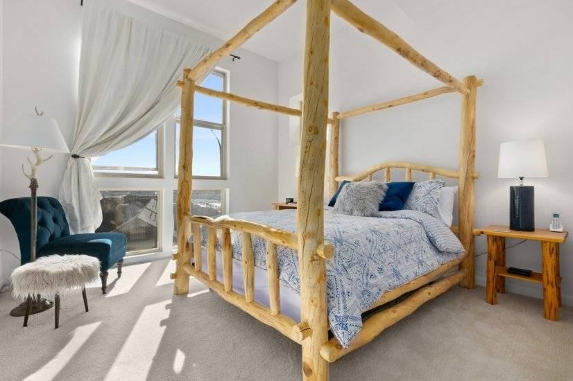 Loft 313 Master Bedroom