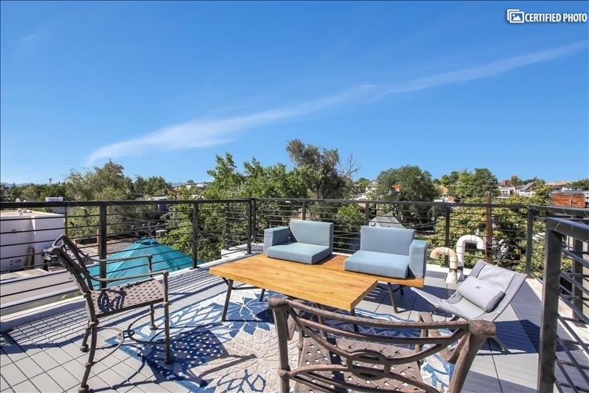 Enjoy Unobstructed 360 Degree Views From the Rooftop Deck
