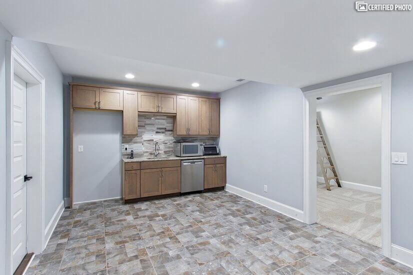 bonus kitchen in the basement