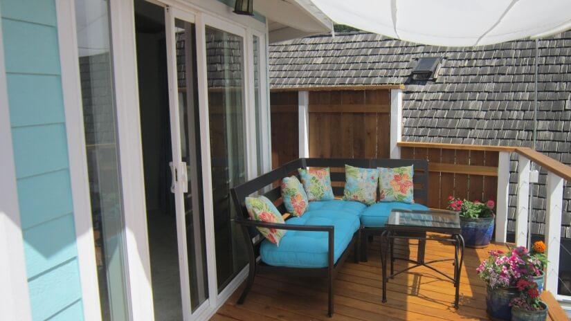 Balcony off Master suite bedroom