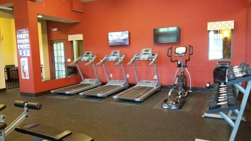 Fitness Center and Sauna