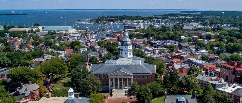 Enjoy downtown Annapolis within 1/5 miles