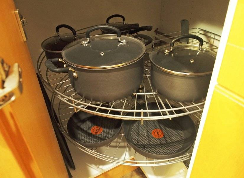 New pots and pans