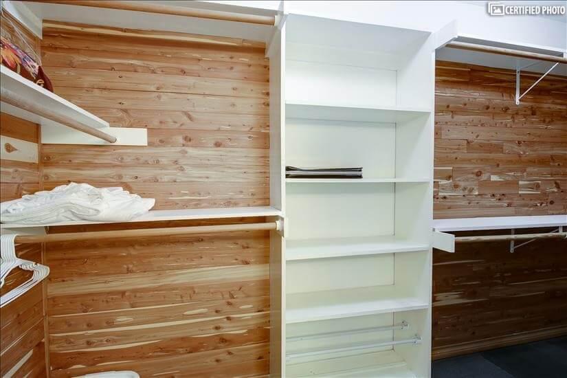 MBR Cedar lined closet 1