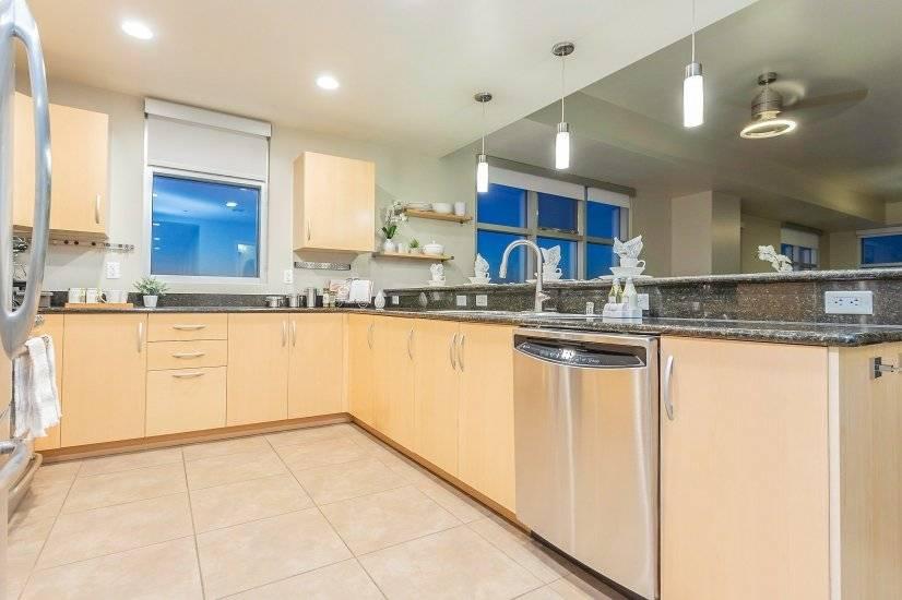 Kitchen - stainless steel appliances, pot filler faucet