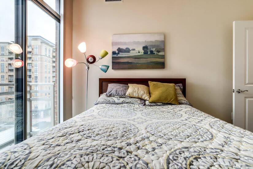 Bedroom with window