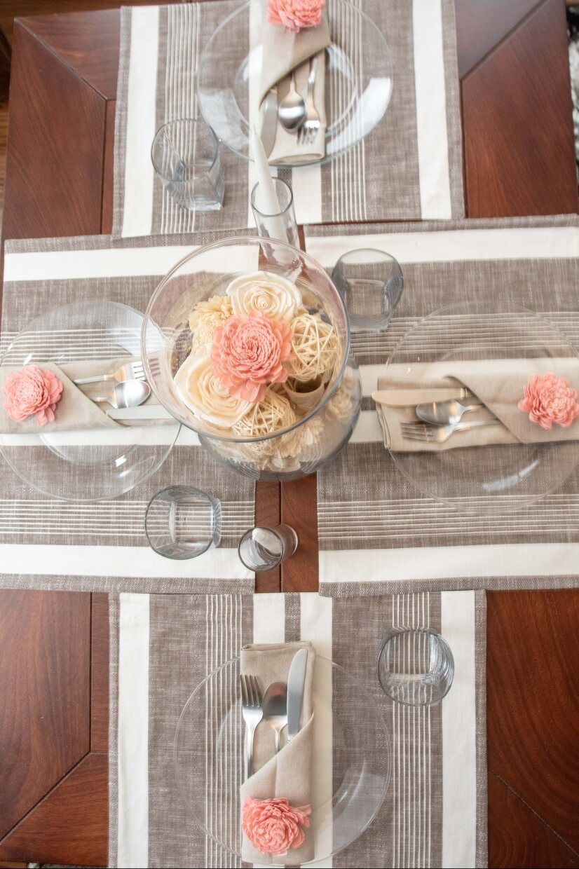 Check out this gorgeous shot of the kitchen table