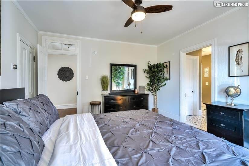 Master Bedroom Toward 2nd Floor Hall (King)