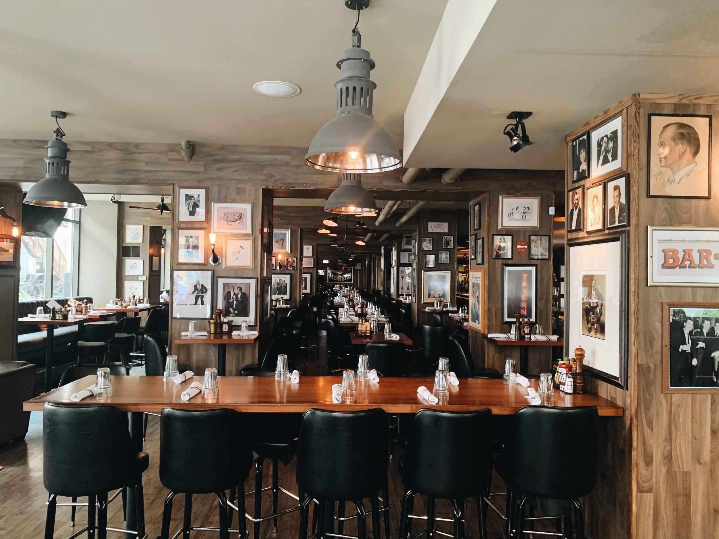 Indoor Dining at Randolph Tavern