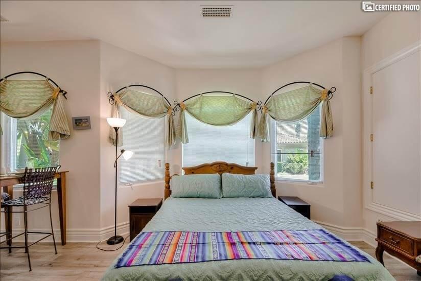 Comfortable California King Bed.