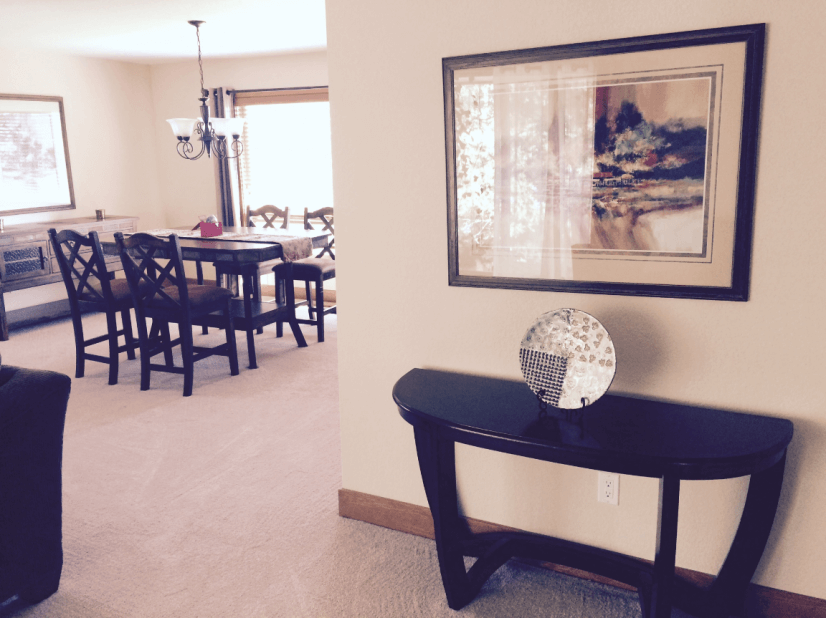 Entryway Formal Dining and Living Room