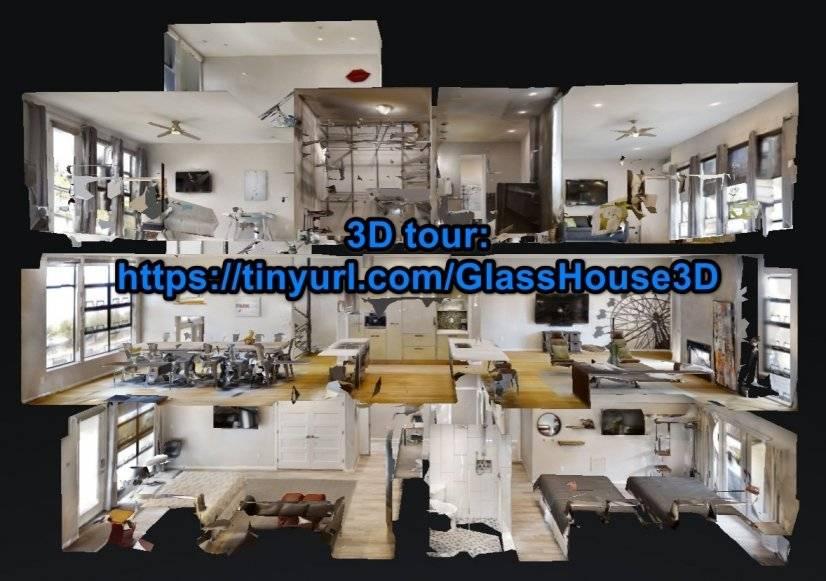 3D Matterport tour: http://tinyurl.com/glasshouse3d