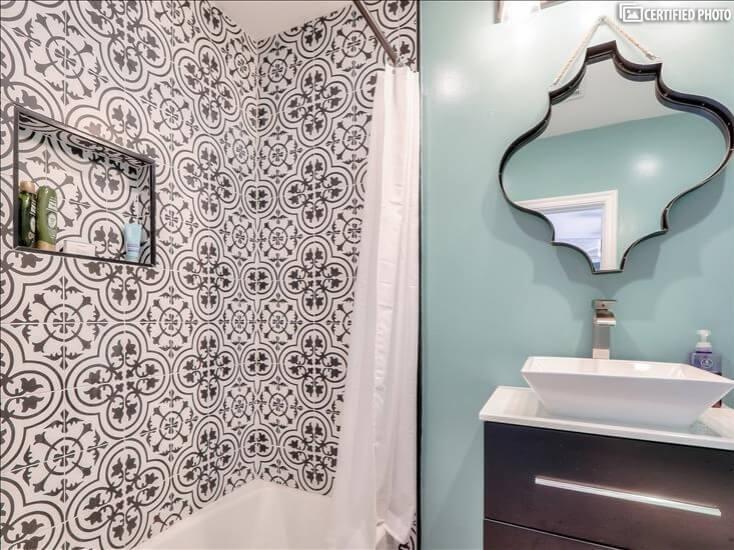 Master Bath 2 Shower/Tub Combo