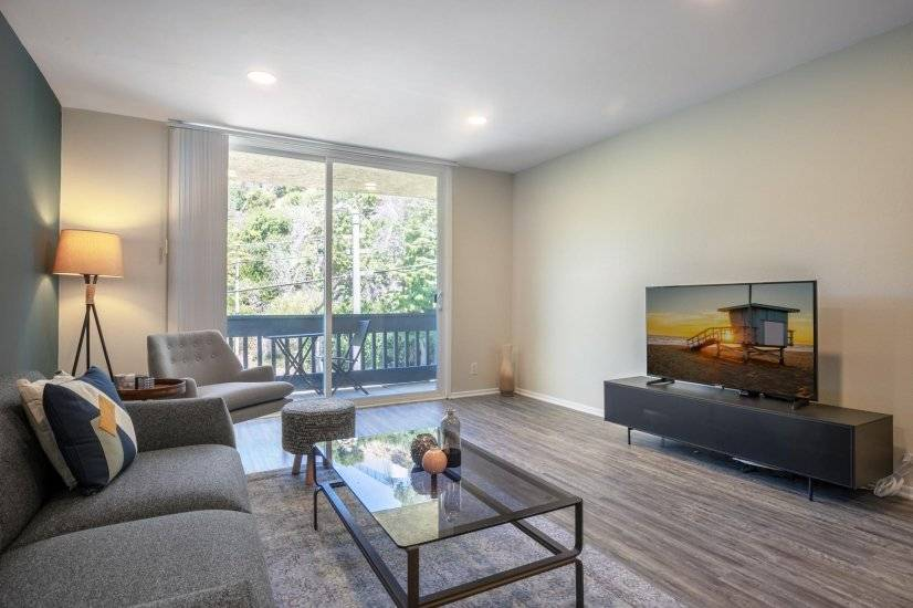 image 2 furnished 1 bedroom Apartment for rent in Pacific Palisades, West Los Angeles