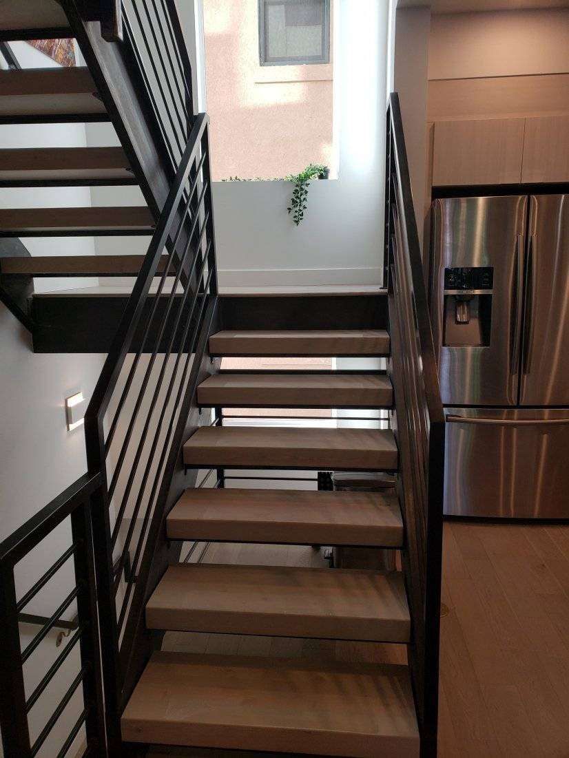 Stairs to 3rd level