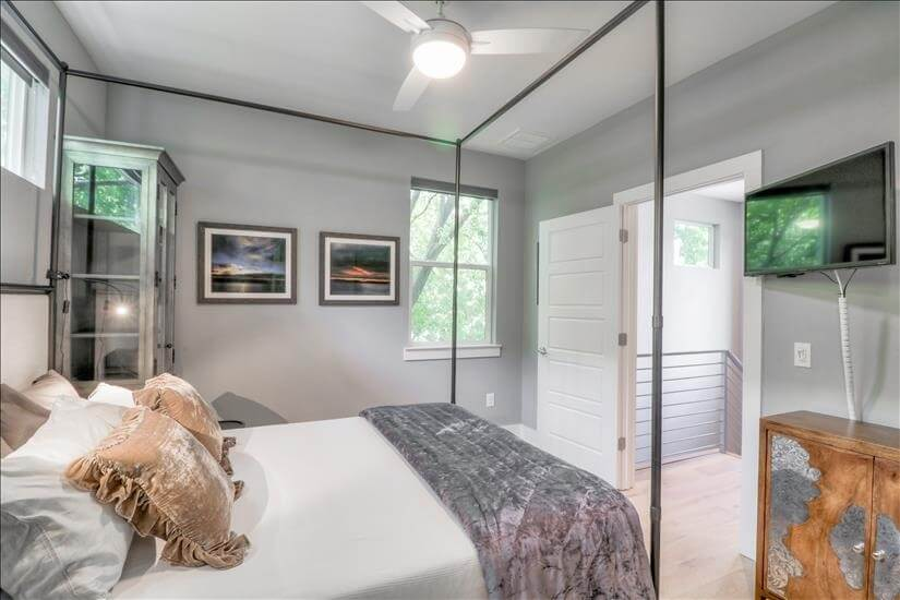 Master Bedroom with Flat Screen