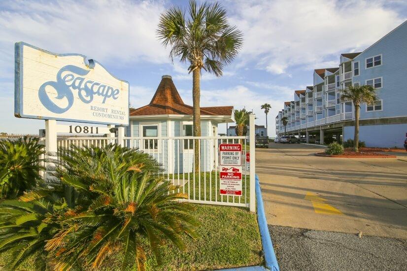 Seascape Resort Entrance
