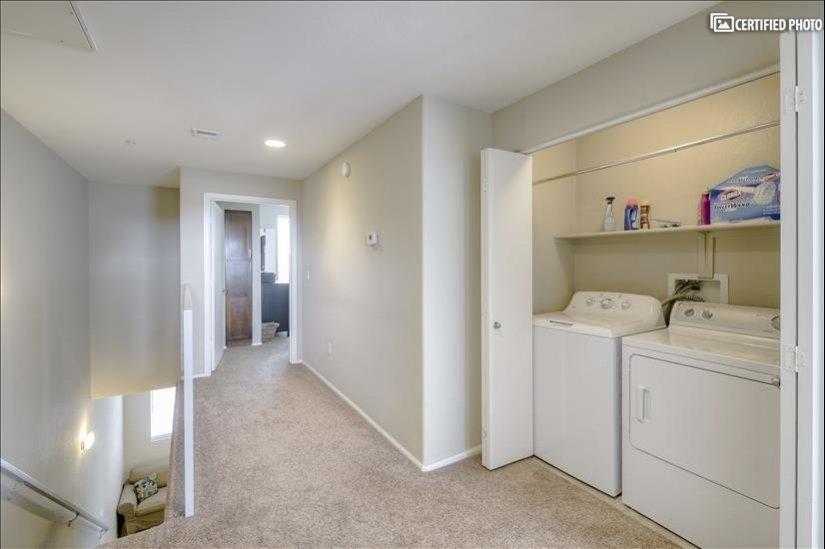3rd Floor Halway & Laundry