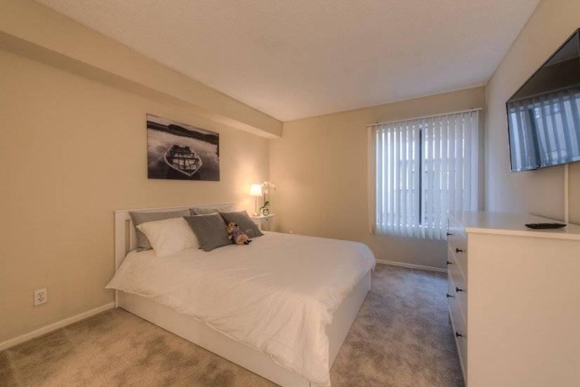 Spacious bedroom with smart TV/netflix