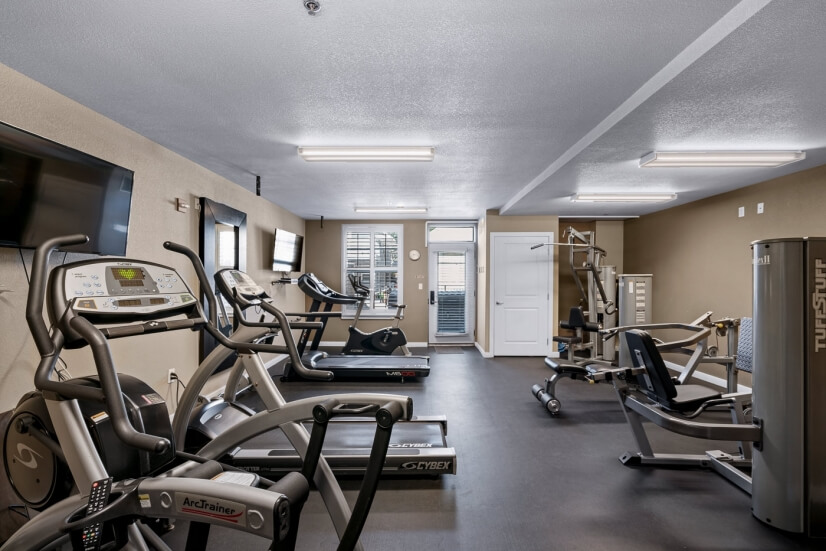 Workout room for residents / guests.