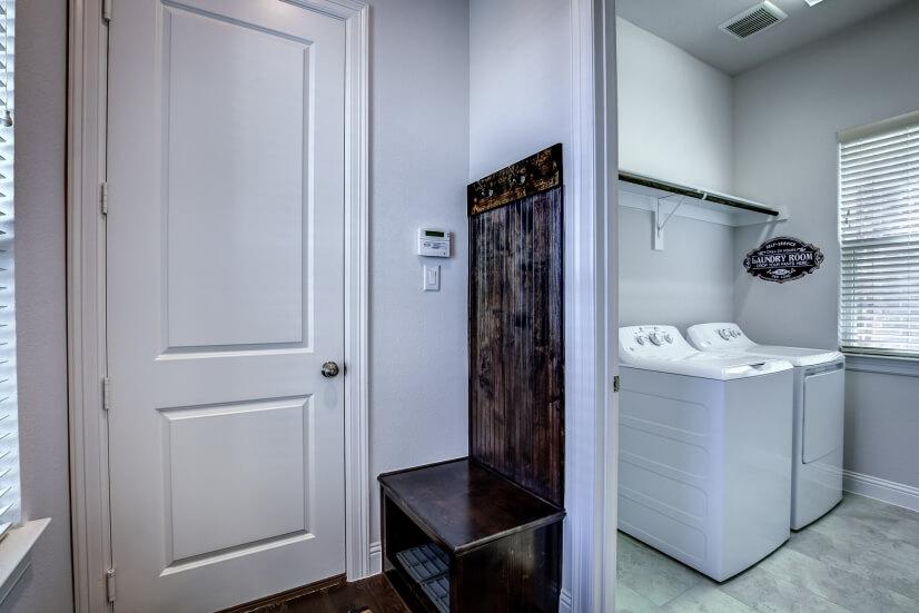 Mud Room & Laundry Room - 1st Floor