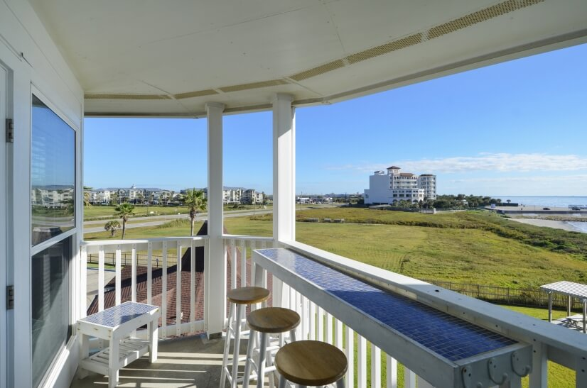 Seascape Units Offer Private Balconies with a