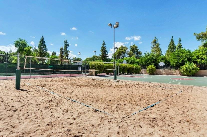 Free Guests Access. Volleyball And Basket Ball Courts