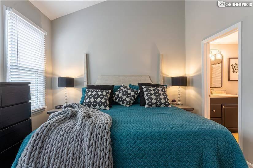 Beautiful bright bedroom