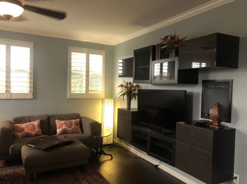 3rd Floor Couch and TV
