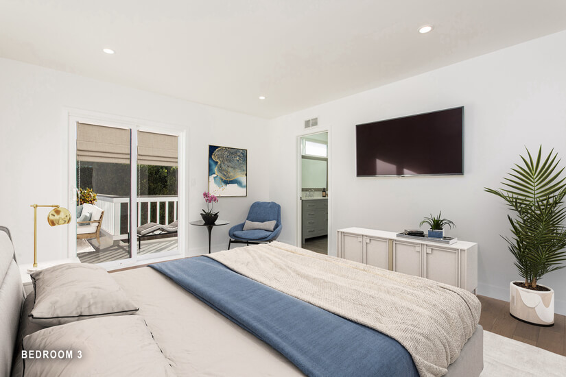 Bedroom 3 -Virtually Staged
