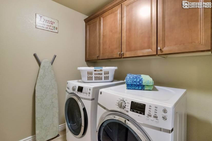 Laundry Room-Full Size Washer and Dryer