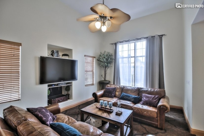 Relax in the elegant living room!