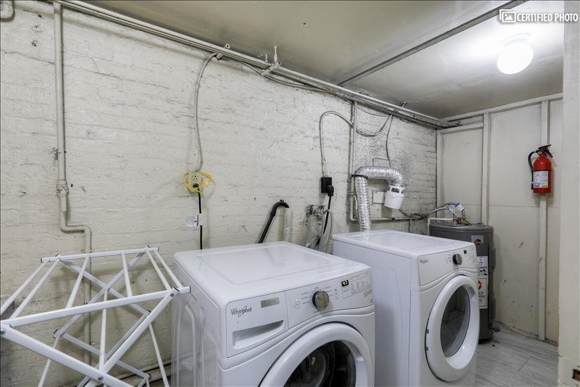 Basement Laundry