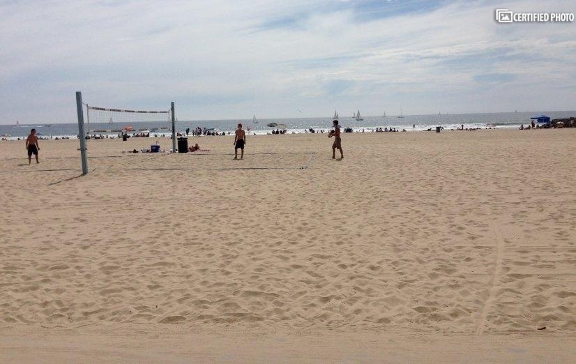 Beach fun is right across the street.