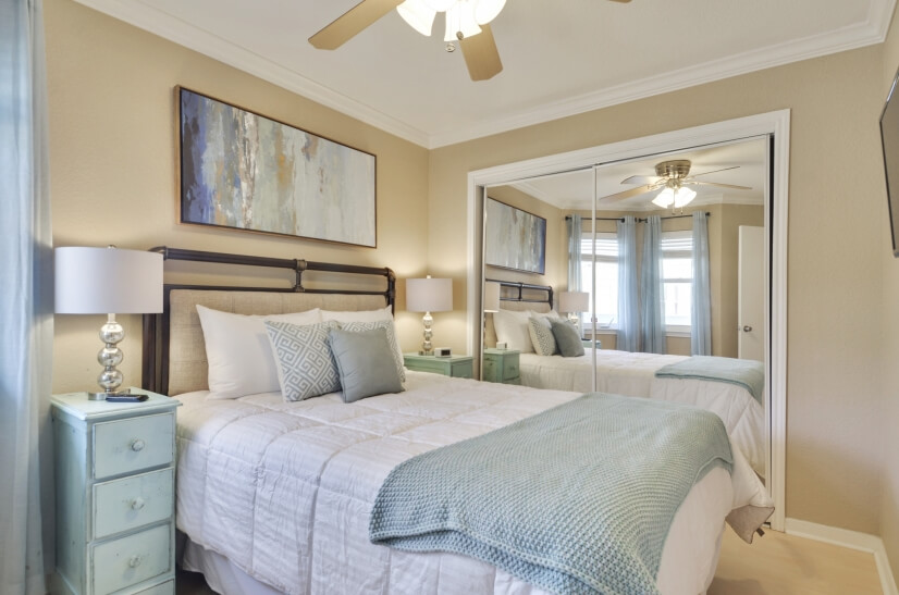 Bedroom at Seascape With Lots of Natural Ligh