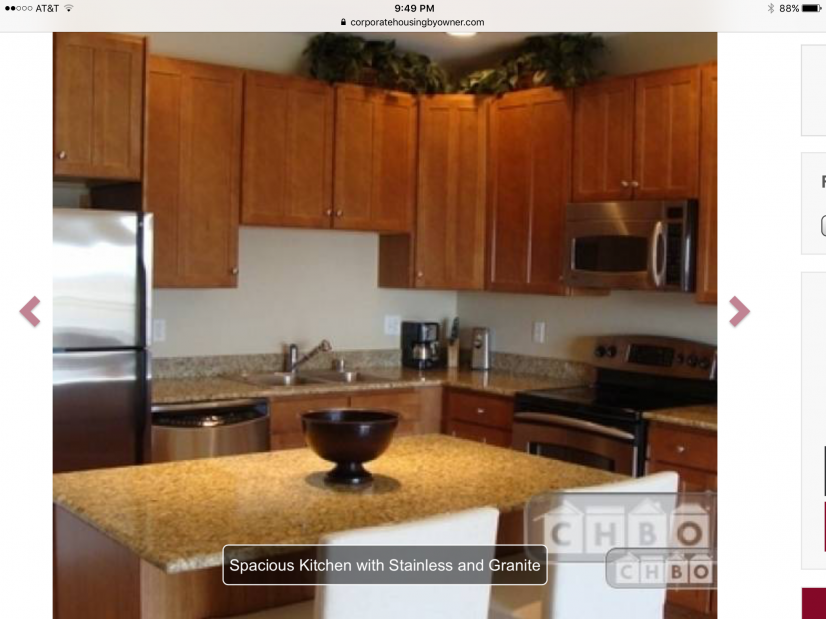 Spacious Kitchen with Stainless and Granite