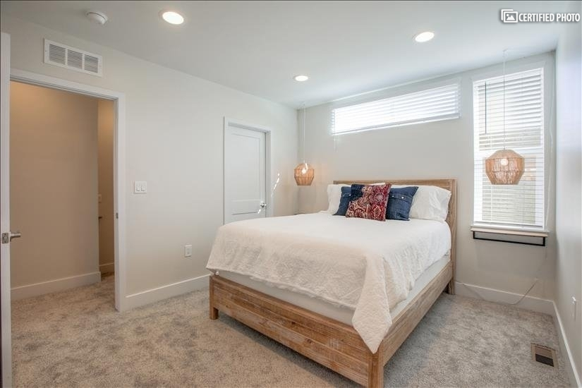 Master Bedroom with two walk-in closets